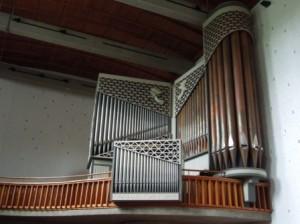 Aktuelle Orgel Prospekt Foto