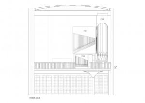 Frontansicht der Orgel - das Schwellwerk ist vollständig verborgen